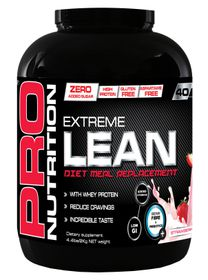 Pro Nutrition Extreme Lean 2kg High Protein Meal Replacement - Strawberry