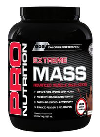 Pro Nutrition Extreme Mass 1kg Muscle Building Formula - Chocolate
