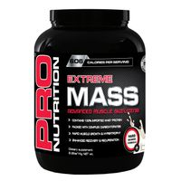 Pro Nutrition Extreme Mass 1kg Muscle Building Formula - Vanilla