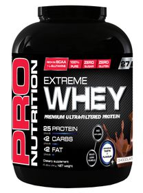 Pro Nutrition Extreme Whey 2kg Protein - Chocolate