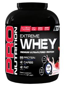 Pro Nutrition Extreme Whey 2kg Protein - Strawberry