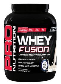 Pro Nutrition Whey Fusion 907g - Vanilla