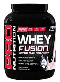 Pro Nutrition Whey Fusion 907g - Strawberry
