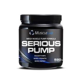 Pro Nutrition Serious Pump 520g - Grape