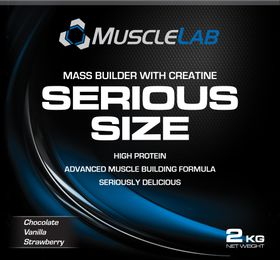 Pro Nutrition Serious Size 2kg - Strawberry