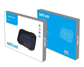 "Astrum 17"" Laptop Cooling Pad Ultra Slim"
