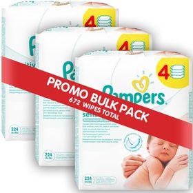 Pampers - Sensitive Wipes - 12 x 56 Bulk Pack