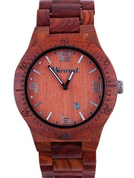 Woood Sandalwood Slasher Real Wood Watch