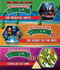 Teenage Mutant Ninja Turtles: The Movie Collection (Import Blu-ray)