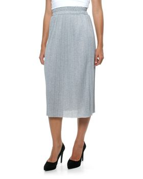 Fate Haven Calf Length Skirt in Dusted Marle