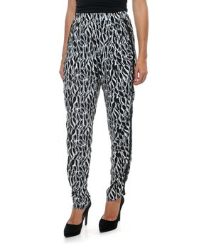 Fate Banksia Pants in Banksia Black and White Print