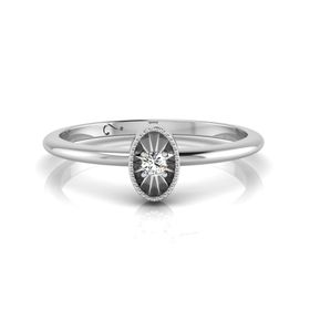 Why Jewellery Diamond Stax Ring - Silver