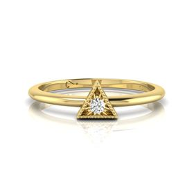 Why Jewellery Diamond Stax Ring - Rose Gold Plated