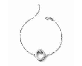 Why Jewellery Marquise Diamond Bracelet - Silver
