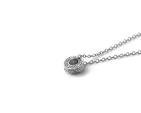 Why Jewellery Circle of Life Diamond Pendant and Chain - Silver