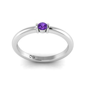 Why Jewellery Amethyst Ring - Silver