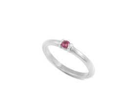 Why Jewellery Rhodolite Ring - Silver