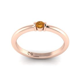 Why Jewellery Citrine Ring Rose Gold Plated Buy Online in South