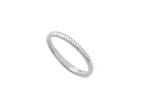 Why Jewellery Twist Eternity Ring - Silver