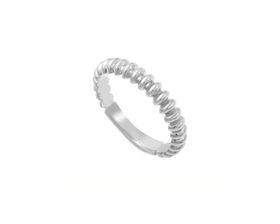 Why Jewellery Oval Eternity Ring - Silver