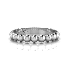 Why Jewellery Round Eternity Ring - Silver