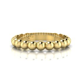 Why Jewellery Round Eternity Ring - Yellow Gold Plated