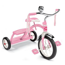 Radio Flyer Classic Pink Dual Deck Tricycle - Pink