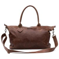 Mally Classic Leather Baby Bag - Brown
