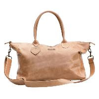 Mally Classic Leather Baby Bag - Tan