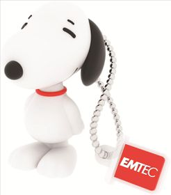 Emtec PN100 Snoopy USB 2.0 Flash Drive - 8GB