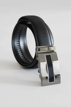 Click Belts Iron Man Buckle With Black Strap