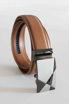 Click Belts Sabre Buckle With Tan Strap