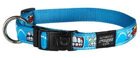 Rogz - Fancy Dress Extra-Large 2.5cm Armed Response Dog Collar - Comic Design