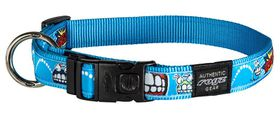 Rogz - Fancy Dress Extra-Large 2.5cm Armed Response Dog Collar - Comic Design