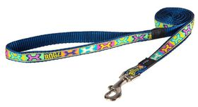 Rogz - Fancy Dress Medium 1.6cm Scooter Fixed Dog Lead - Pop Art Design