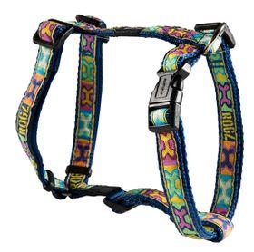 Rogz - Fancy Dress 16mm Dog H-Harness - Pop Art