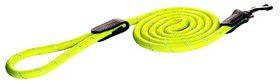 Rogz - Utility Rope 0.9cm Medium 1.8m Long Dog Leash - Yellow Reflective