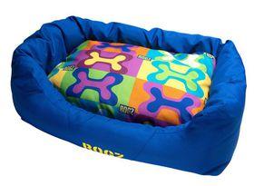 Rogz - Spice Pod (72cm x 45cm x 25cm) Medium Cushion Bed - Pop Art Design