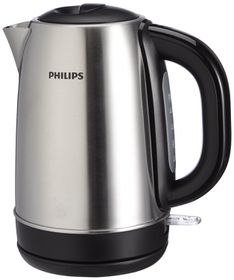 Philips - 1.7 Litre Stainless Steel Kettle - HD9320