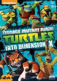 Teenage Mutant Ninja Turtles Season 2 Vol. 4: Into Dimension X (DVD)
