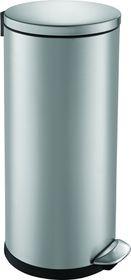 Eko - Luna Round Step Bin - Brushed Stainless Steel - 30 Litre