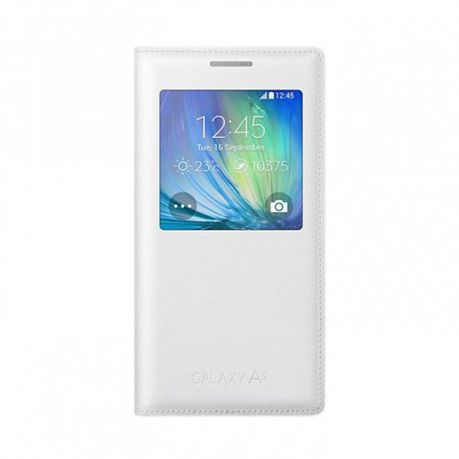 release date c6951 c5fb7 Samsung Galaxy A5 2015 S-View Cover - White