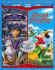 Adventures Of Ichabod & Mr Toad / Fun & Fancy Free - (Region A Import Blu-ray Disc)