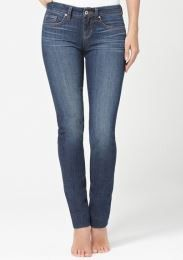 Yummie Tummie Shape Jeans Straight Leg in Blue