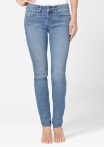 Yummie Tummie Shape Jeans Skinny Leg in Light Blue
