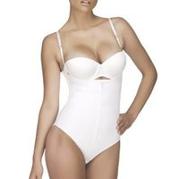 Vedette Shapewear Top Body Shaper Lucille 116 in White