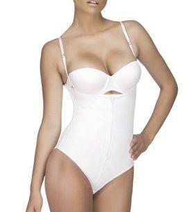 Vedette Shapewear Top Body Shaper Lucille 116 in White