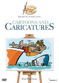 Drawing Made Easy-Cartoons - (Import DVD)