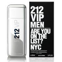 Carolina Herrera  212 Men VIP EDT For Men - Size: 100ml (parallel import)