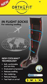 Orthofit Inflight Socks - Sheer - Extra Large